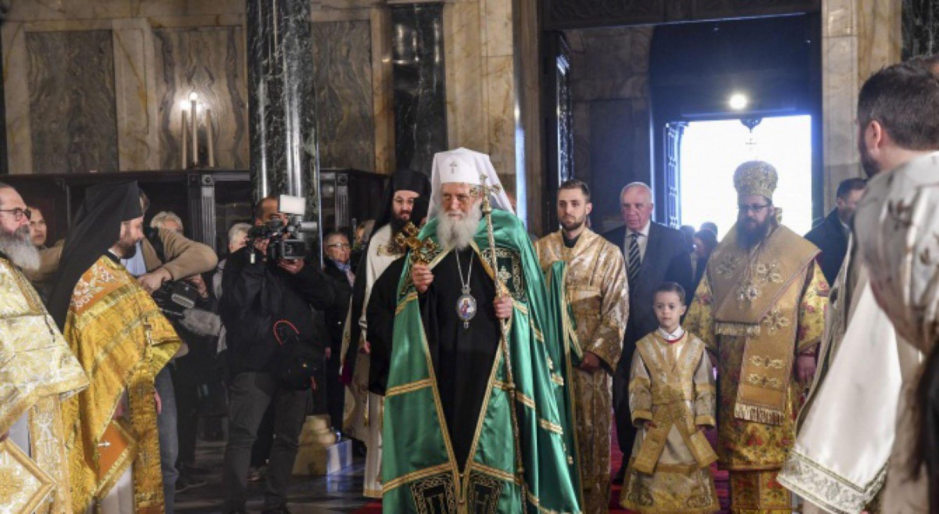 Патриарх Неофит отслужит молебен к новому 2020 году