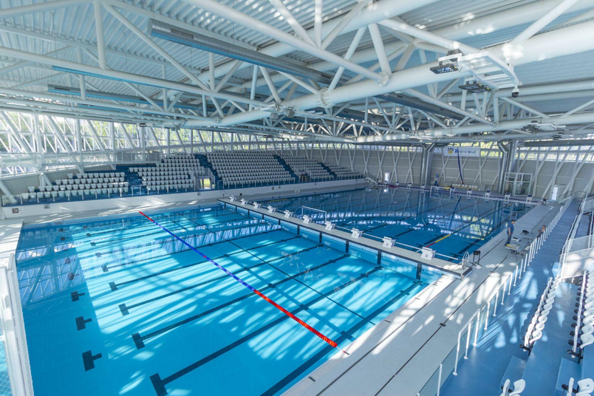 Открывается новый крытый бассейн в Бургасе