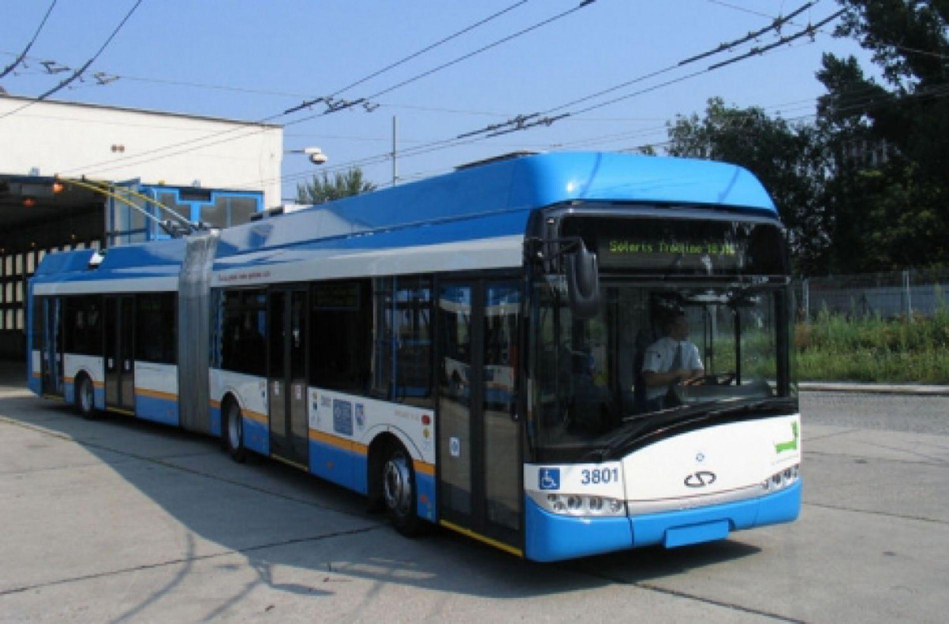 Новые троллейбусы в Варне