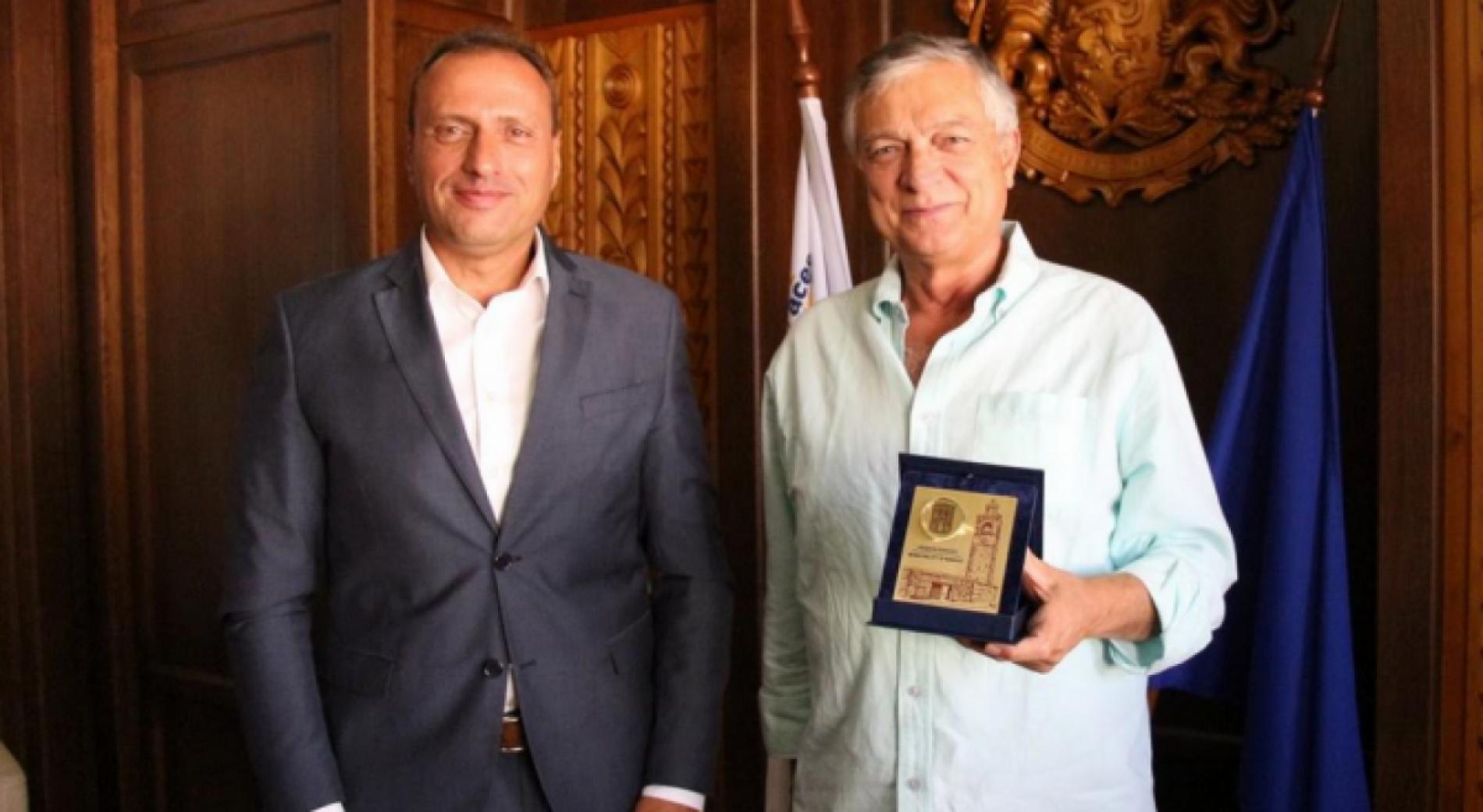 Мэр Банско приветствовал почетного консула Италии - Антонио Тарквинио