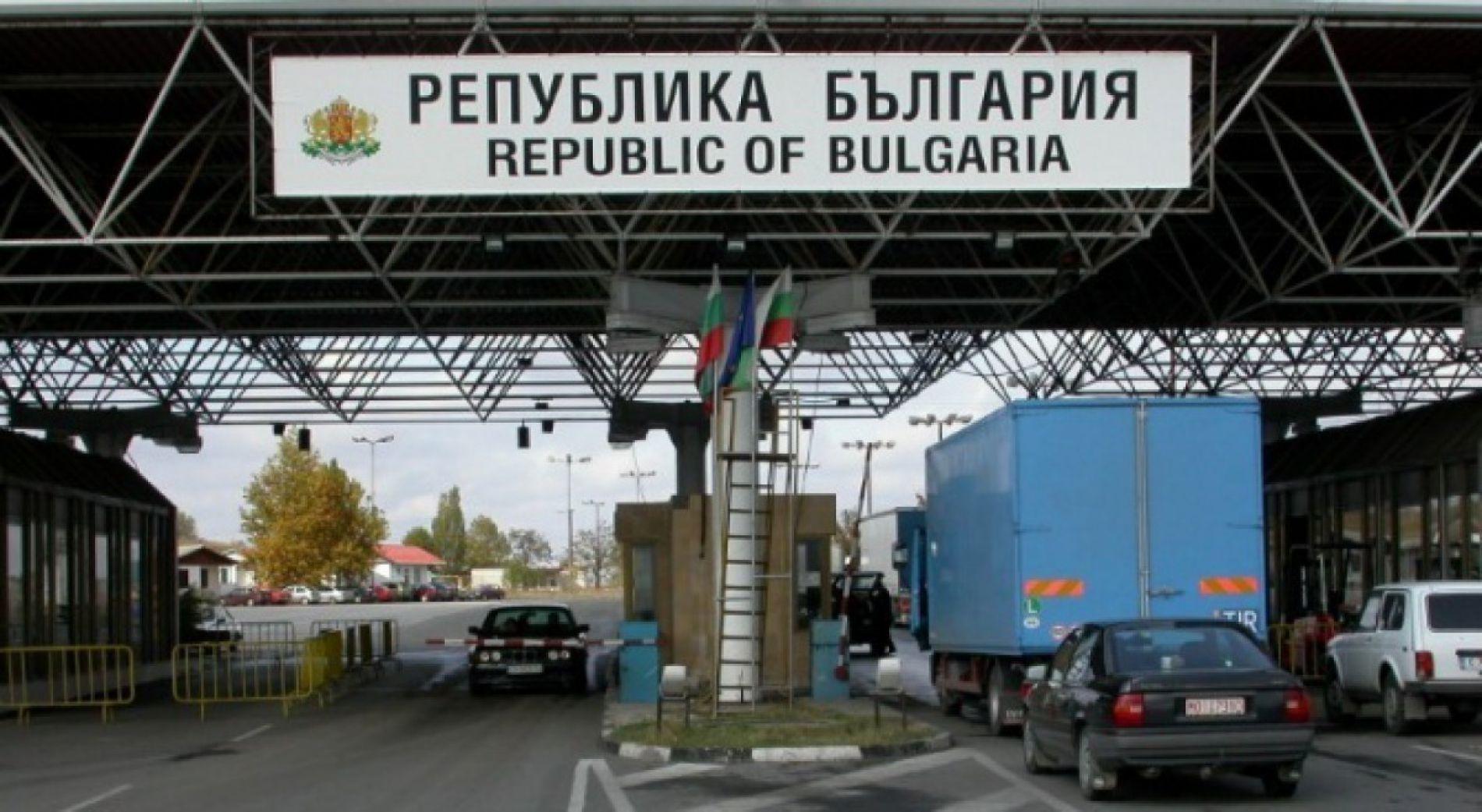 Интенсивное движение практически на всех пунктах пересечения границы в Болгарии