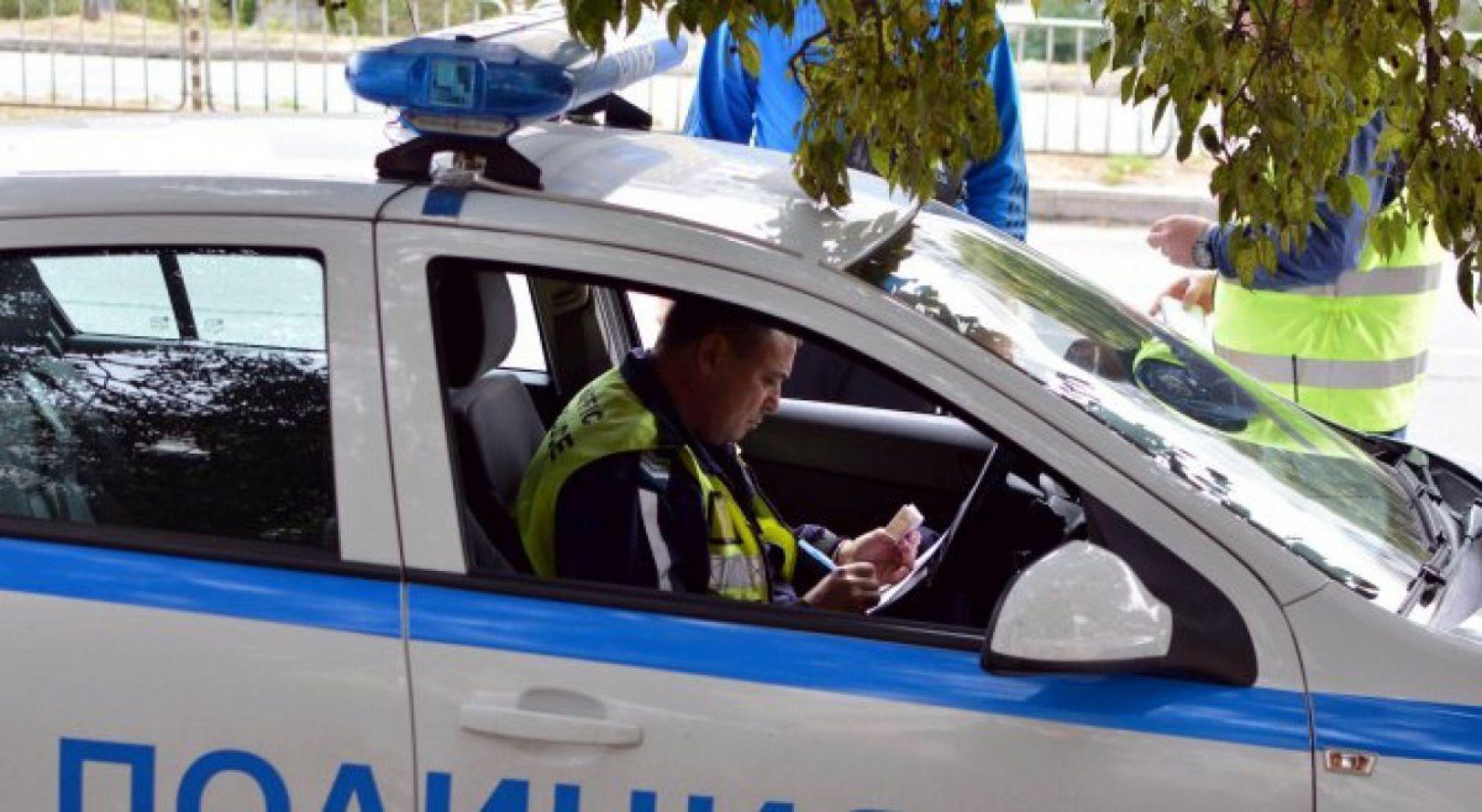 Усиленный контроль на дороге в направлении Бургас - Царево