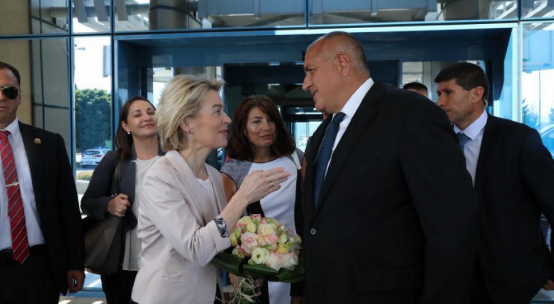 Бойко Борисов встретился с избранным президентом Европейской комиссии Урсулой фон дер Лайен