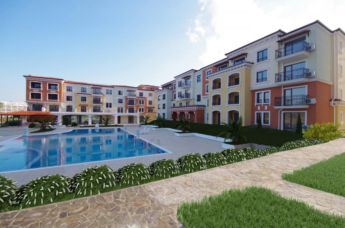 Квартиры в комплексе Лили Бийч Резорт в Созополе Болгария