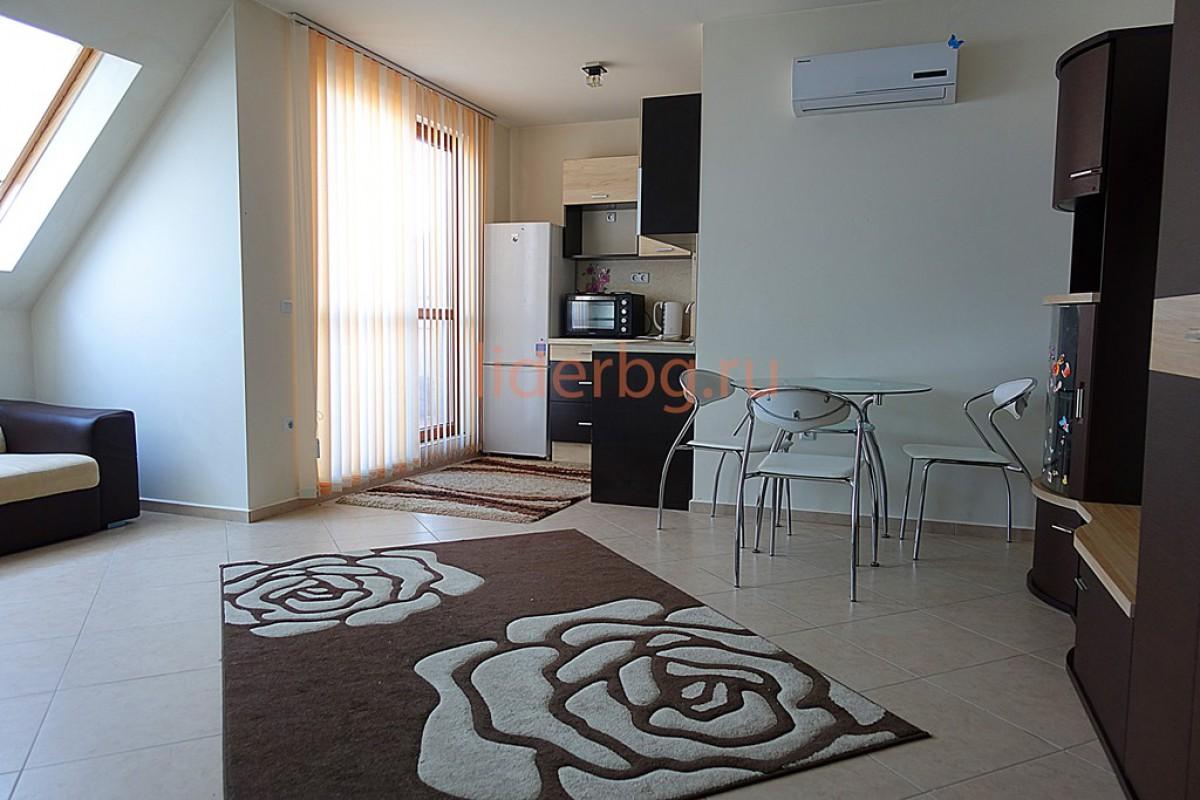 Апартамент с 1 спальней в Каскадас на Солнечном берегу Болгария
