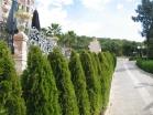 Прогулочная аллея в Комплексе Роял Парк в Елените в Болгарии