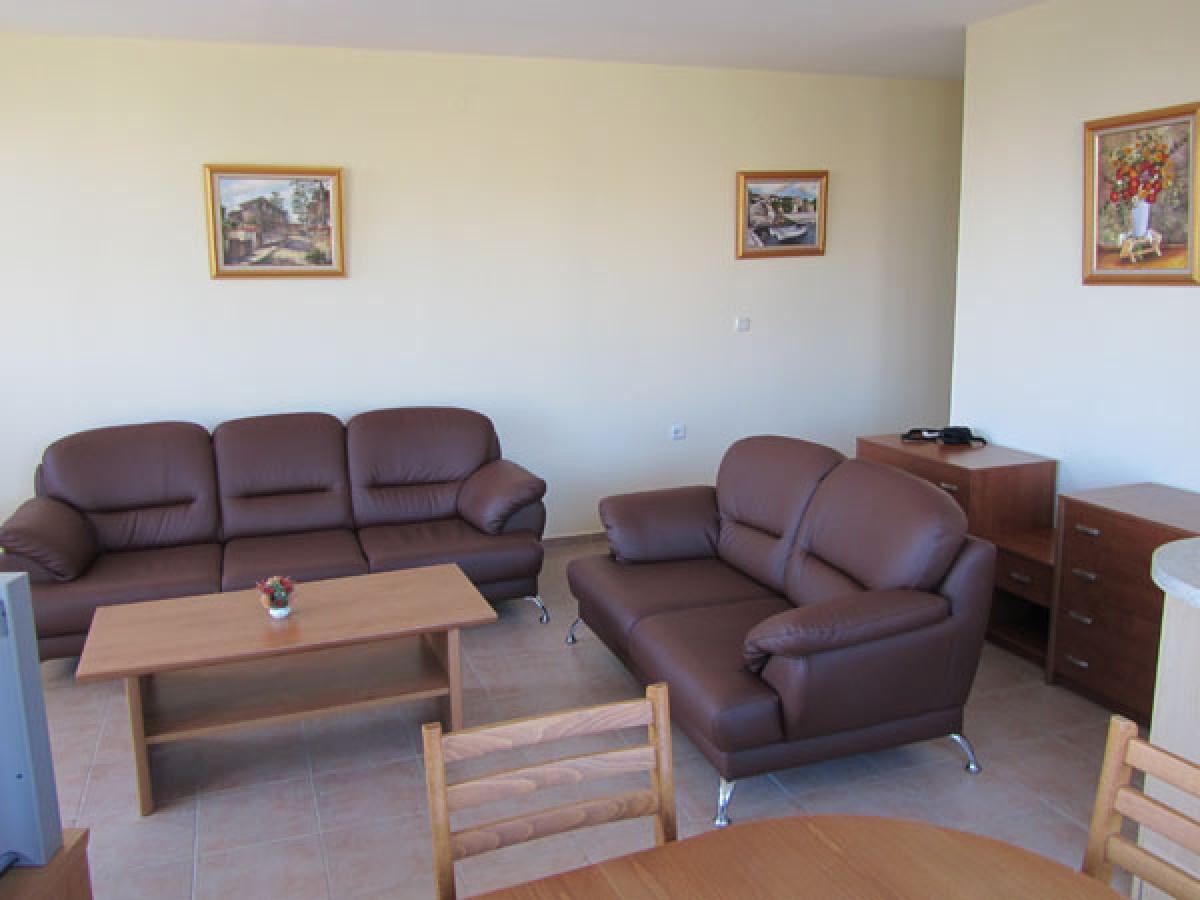 Апартамент с 3 спальнями в Святом Власе Болгария в Привилидж Форт Бийч