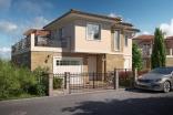 Новый двухэтажный дом в городе Поморие Болгария