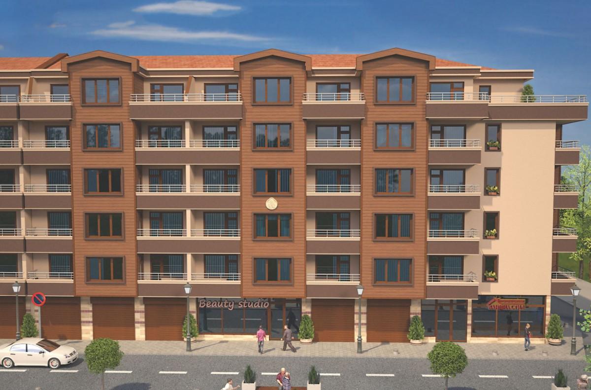 Квартиры в жилом доме в Бургас Болгария, квартал Братья Миладинови