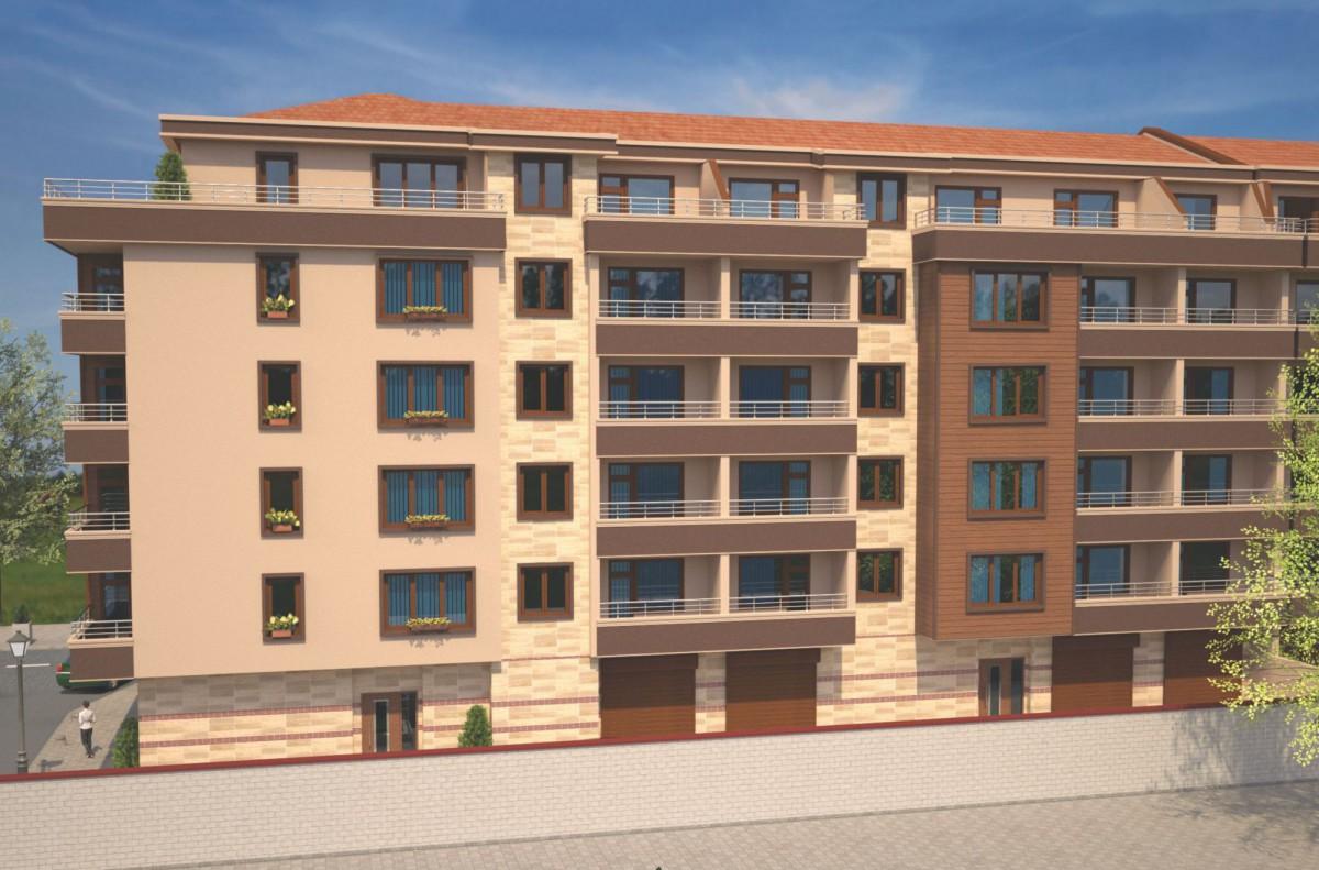 Однокомнатные квартиры в Болгарии у моря в Бургас