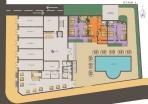 План 1 этажа в Грин Парадайз де Люкс