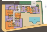 План 2 этажа в Грин Парадайз де Люкс