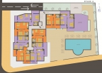 План 4 этажа в Грин Парадайз де Люкс