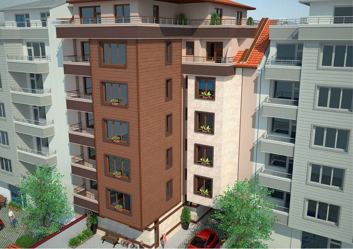 Апартаменты  возле улицы Александровской в Бургасе Болгария