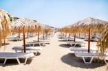 Пляж возле комплекса Гранд Вилла в Святом Власе в Болгарии