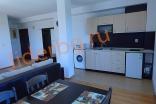 Гостиная комната с полной меблировкой в квартире комплекса Какао Резиденс на Солнечном берегу в Болгарии