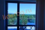 Вид на море из окна квартиры комплекса Какао Резиденс на Солнечном берегу в Болгарии
