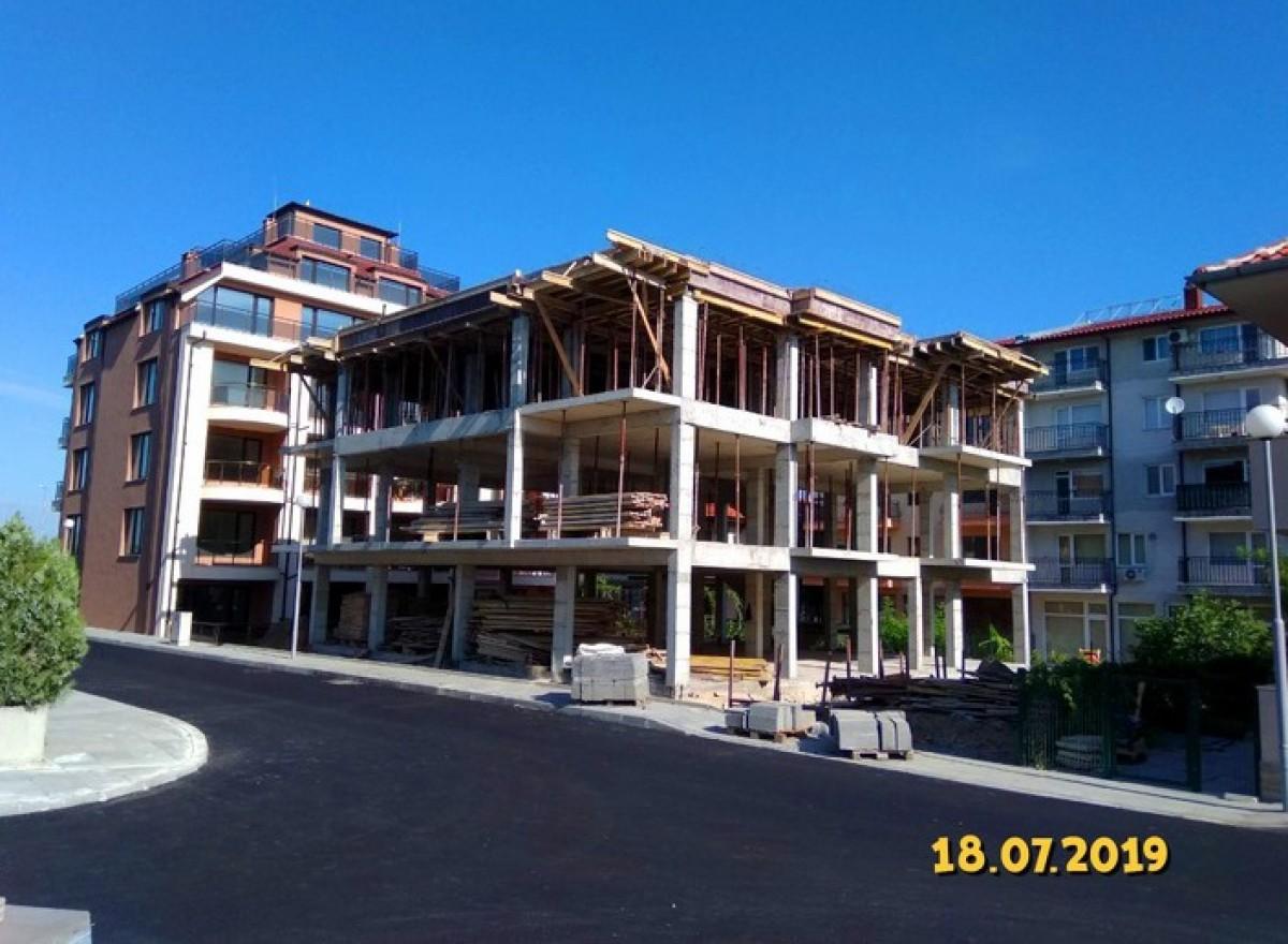 Студии,двухкомнатные,трехкомнатные квартиры в жилом доме в Несебр Болгария квартал Черно море