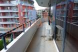 Терасса полностью окружающая апартамент в комплексе Бумеранг на Солнечном берегу в Болгарии
