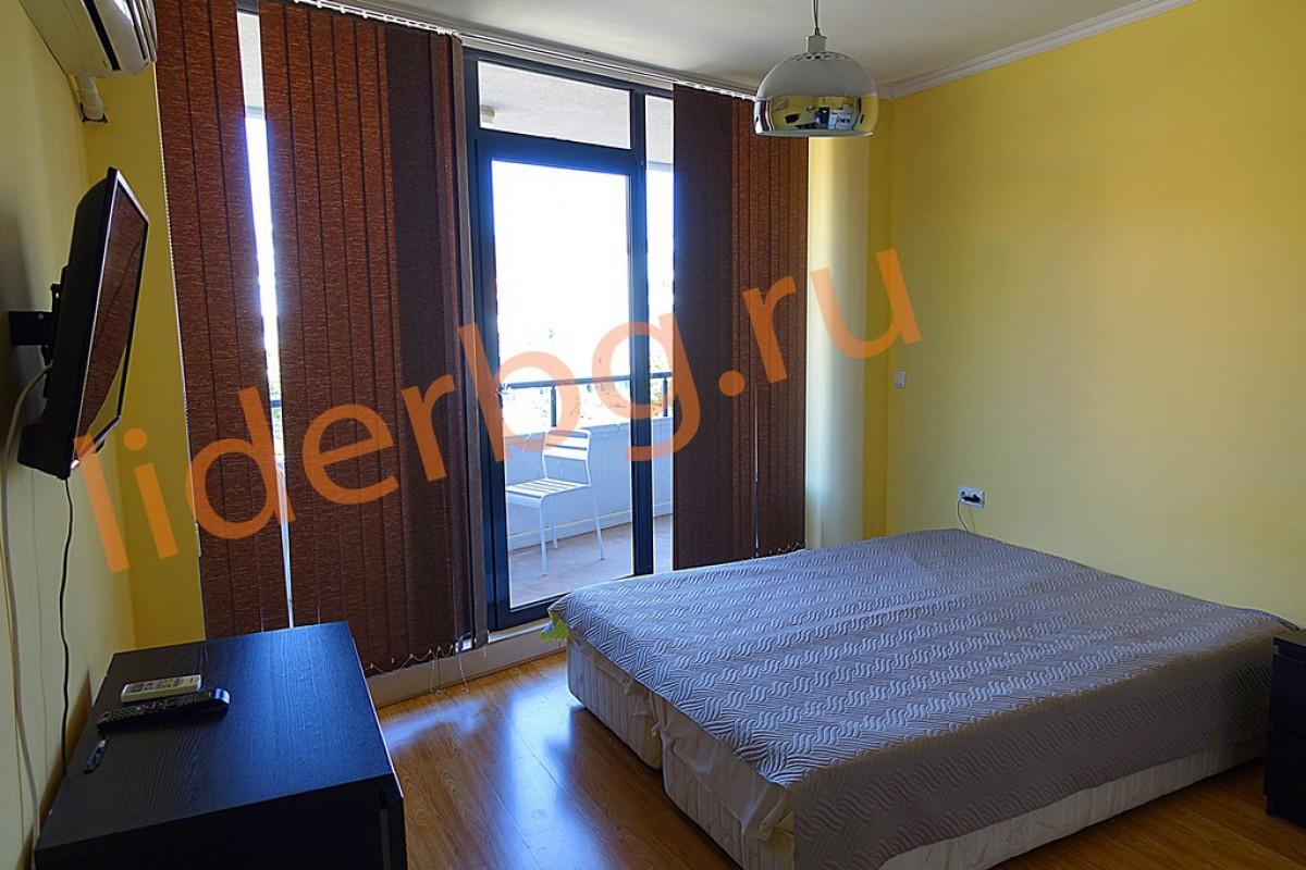 Апартамент с 1 спальней в комплексе Бумеранг на Солнечном берегу в Болгарии