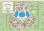 План 2 этажа комплекса Афродита Парк