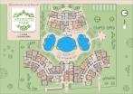 План 3 этажа комплекса Афродита Парка