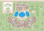 План 4 этажа комплекса Афродита Парк