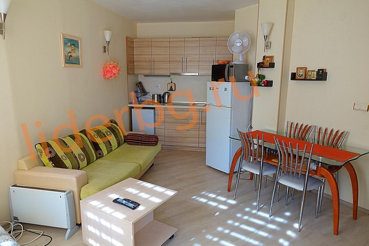 Двухкомнатная квартира в комплексе Авалон Солнечный берег Болгария