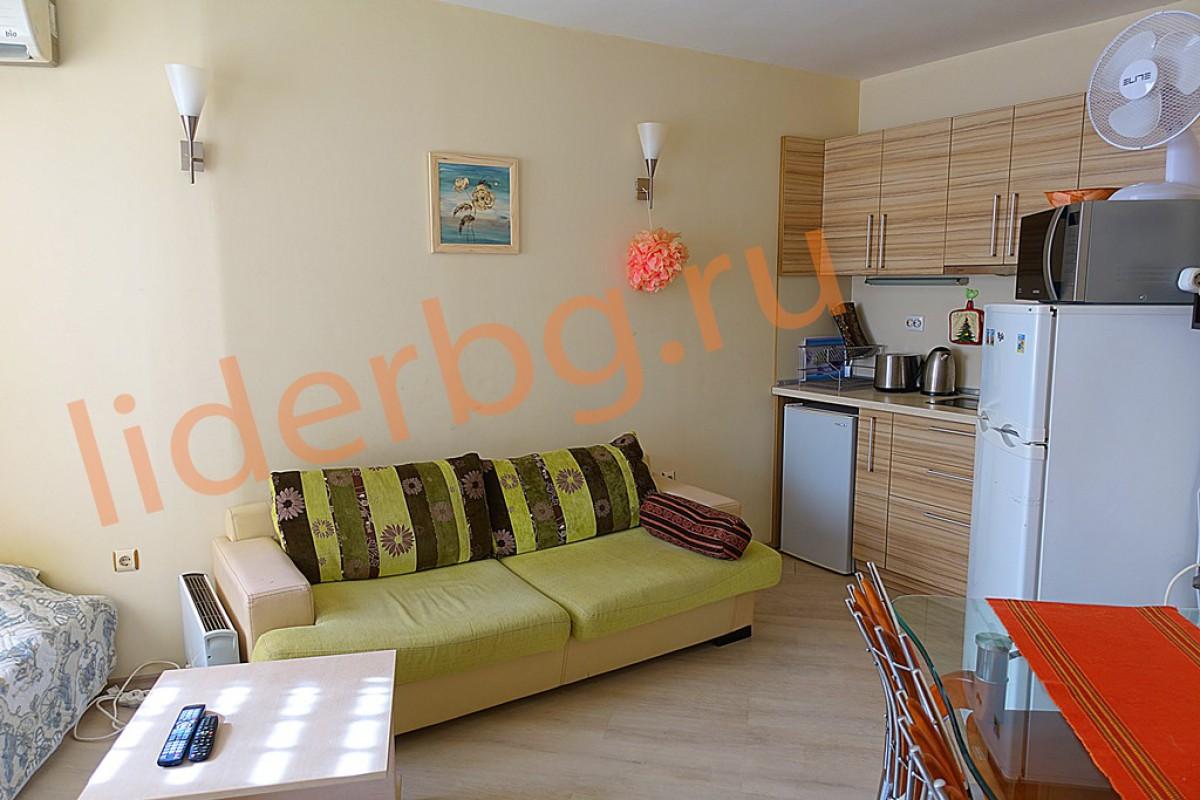 Недорогая квартира в комплексе Авалон на Солнечном берегу