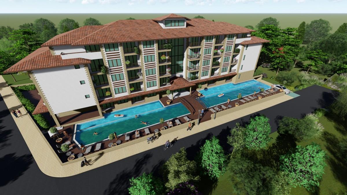 Недвижимость в Приморско от строителя комплекс Грин Парадайз 5
