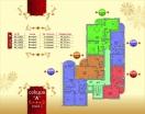 План 2 этажа Секция А в комплексе Элитония Гарденс 3