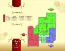 План 4 этажа Секция А  в комплексе Элитония Гарденс 3