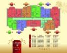 План 4 этажа Секция В в комплексе Элитония Гарденс 3