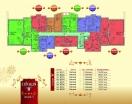 План 5 этажа Секция В в комплексе Элитония Гарденс 3