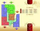 План 1 этажа Секция С в комплексе Элитония Гарденс 3