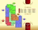 План 2 этажа Секция С в комплексе Элитония Гарденс 3