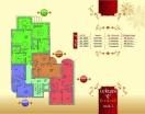 План 3 этажа Секция С в комплексе Элитония Гарденс 3