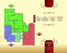 План 4 этажа Секция С в комплексе Элитония Гарденс 3