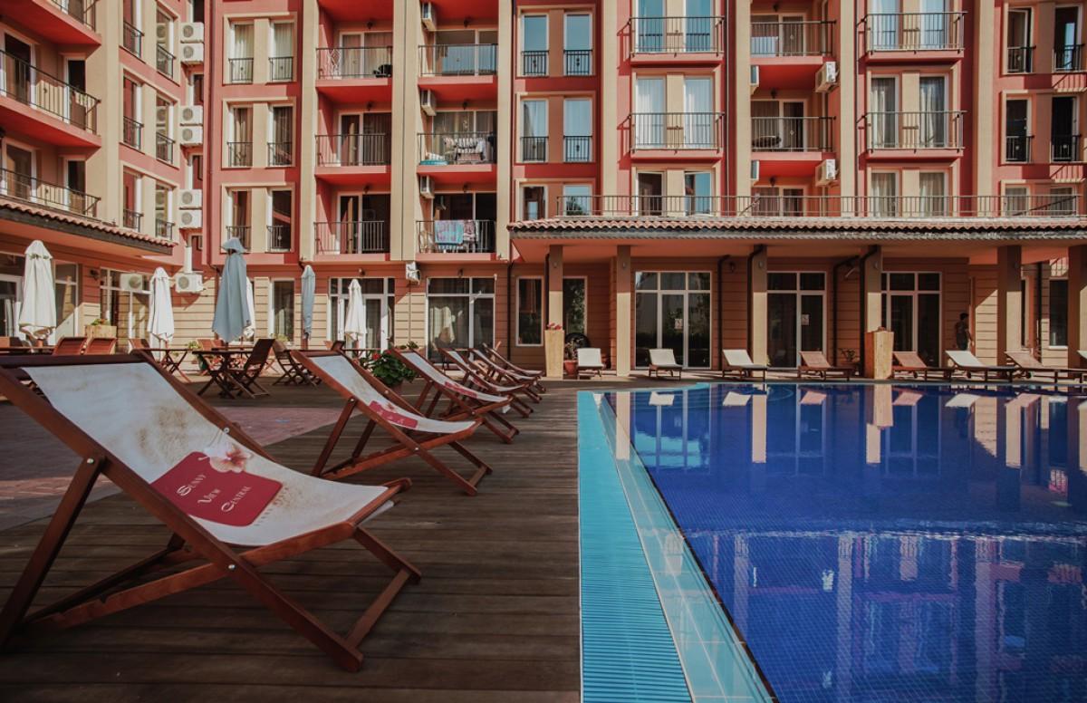 Квартиры возле пляжа Какао и Бедром на Солнечном берегу в Болгарии