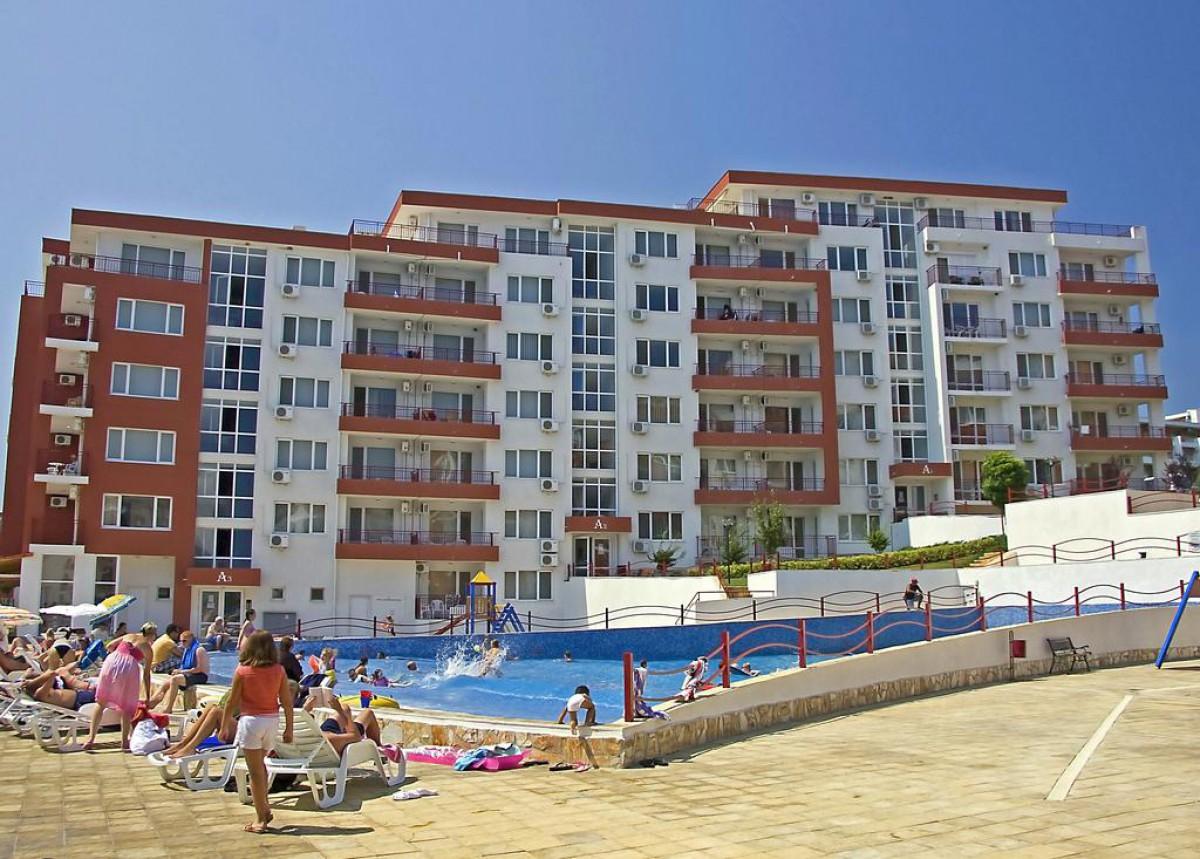Апартамент с одной спальней в Святом Власе Болгария в комплексе Марина Форт Нокс