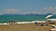 Пляж возле комплекса Оазис в Равде Болгария