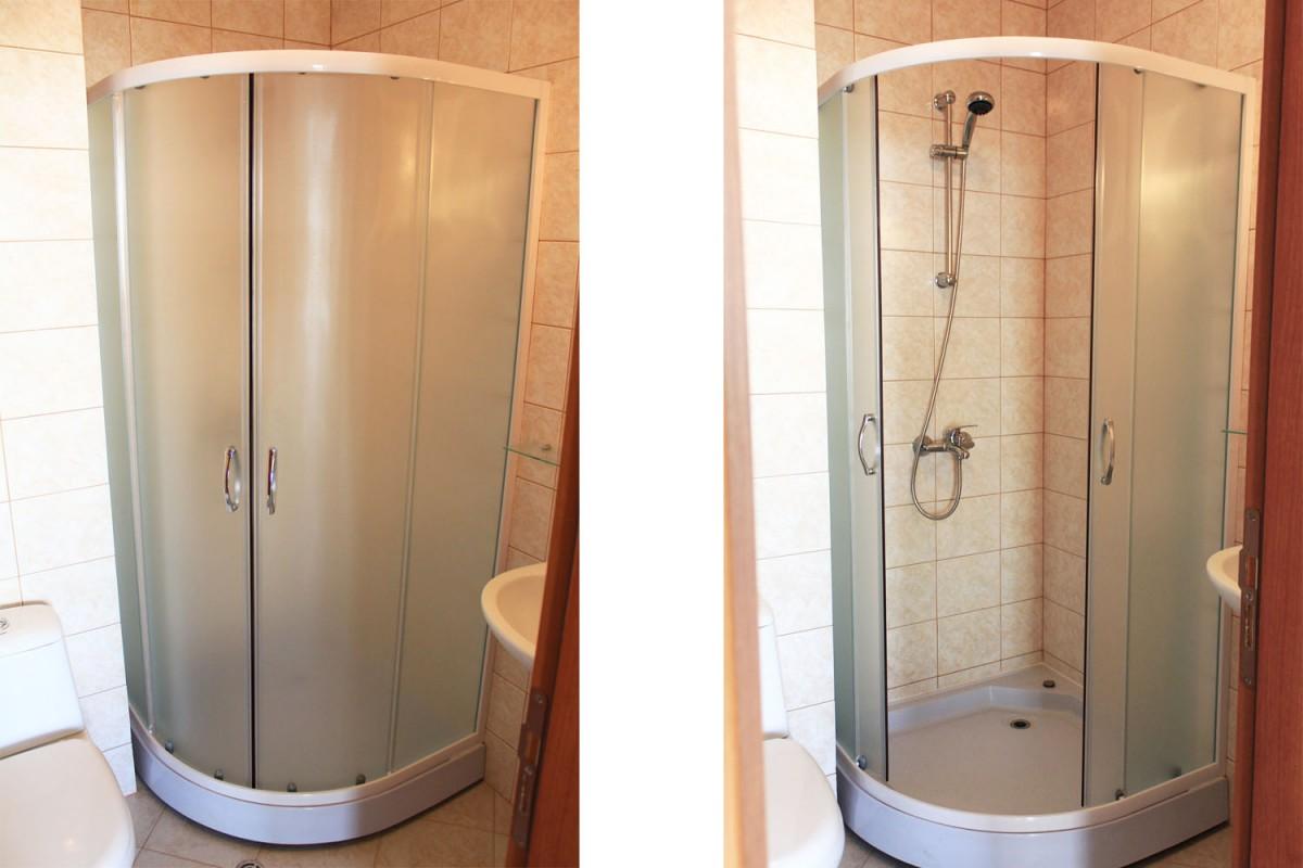 Оборудованный санитарный узел в квартире комплекса Мохита клуб в Лозенец в Болгарии