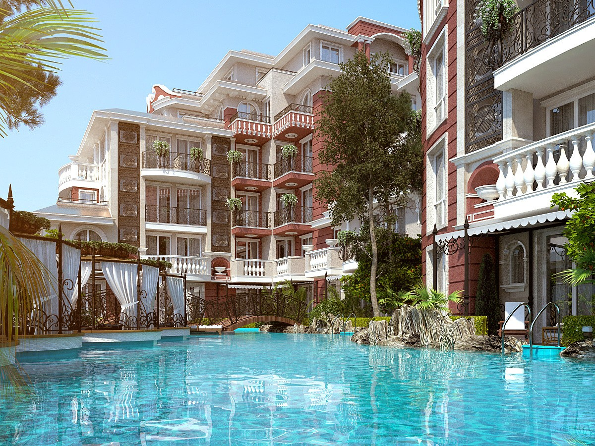 Недвижимость в Болгарии на Солнечном берегу в Месамбрия Ресорт
