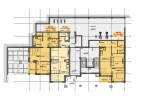 Блок А - 3 этаж