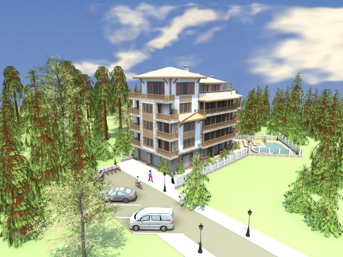 Апартаменты в болгарии в Приморско в комплексе Грин Парадайс