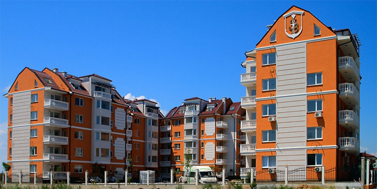 Квартиры в комплексе Си Даймонд на Солнечном берегу в Болгарии