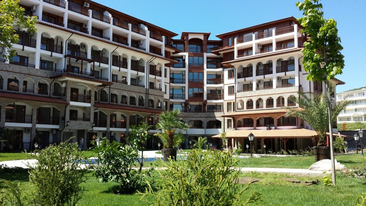 Апартаменты в комплексе Олимп в Святом Власе Болгария