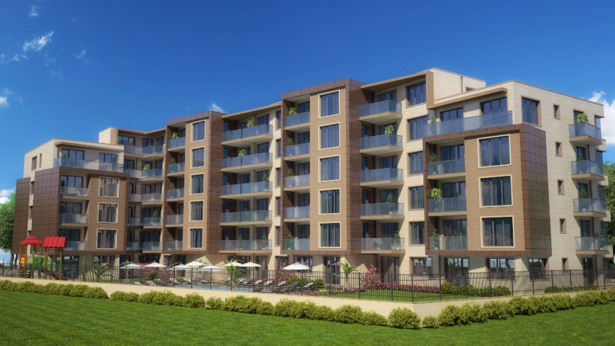 Недвижимость в Болгарии на Солнечном берегу в комплексе ВИП Парк