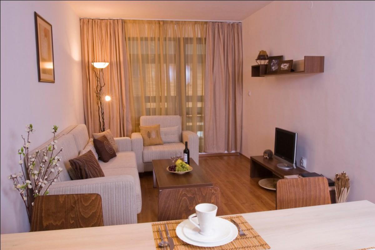 Двухкомнатная меблированная квартира в Банско в Болгарии